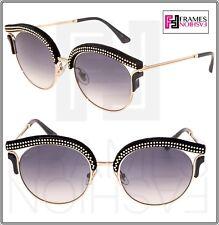 f3f9f07ce5 item 1 JIMMY CHOO LASH Gold Black Suede Leather Glitter Stud Metal Sunglasses  LASH S -JIMMY CHOO LASH Gold Black Suede Leather Glitter Stud Metal  Sunglasses ...