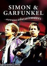 SIMON & GARFUNKEL - ACROSS THE AIRWAVES - RARE CLIPS DVD - FREE POST IN UK