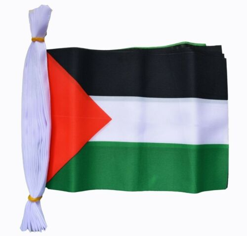 Palestine Flag Bunting Free Gaza In Stock Fast Post 9M /& Polyester