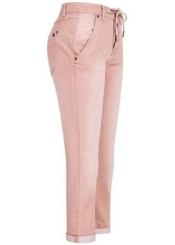 50/% OFF B17052886 Damen Eight2Nine Hose 7//8Jeans leichter Destroy Look hell rosa