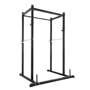 Fitness-Deep-Squat-Rack-Series-Short-Power-Rack-Squat-Deadlift-Cage-Pull-Up