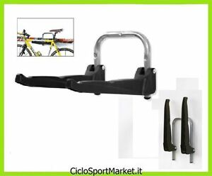 fahrrad rack t r fahrrad an der wand halter von 3 fahrr der wiederverschlie bar ebay. Black Bedroom Furniture Sets. Home Design Ideas