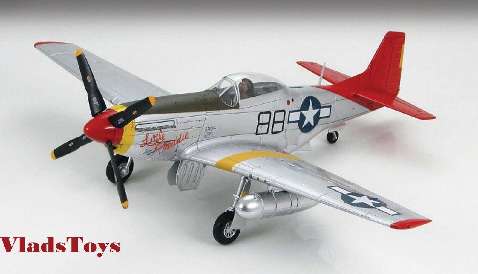 Hobby Master exclusiva 1:48 P-51D Tuskegee little Freddie 332FG HA7718 retirado