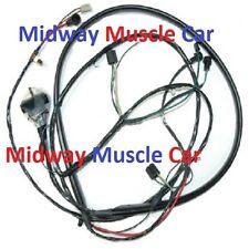 front end headlight wiring harness w/ internal alternator Chevy GMC truck 69-72