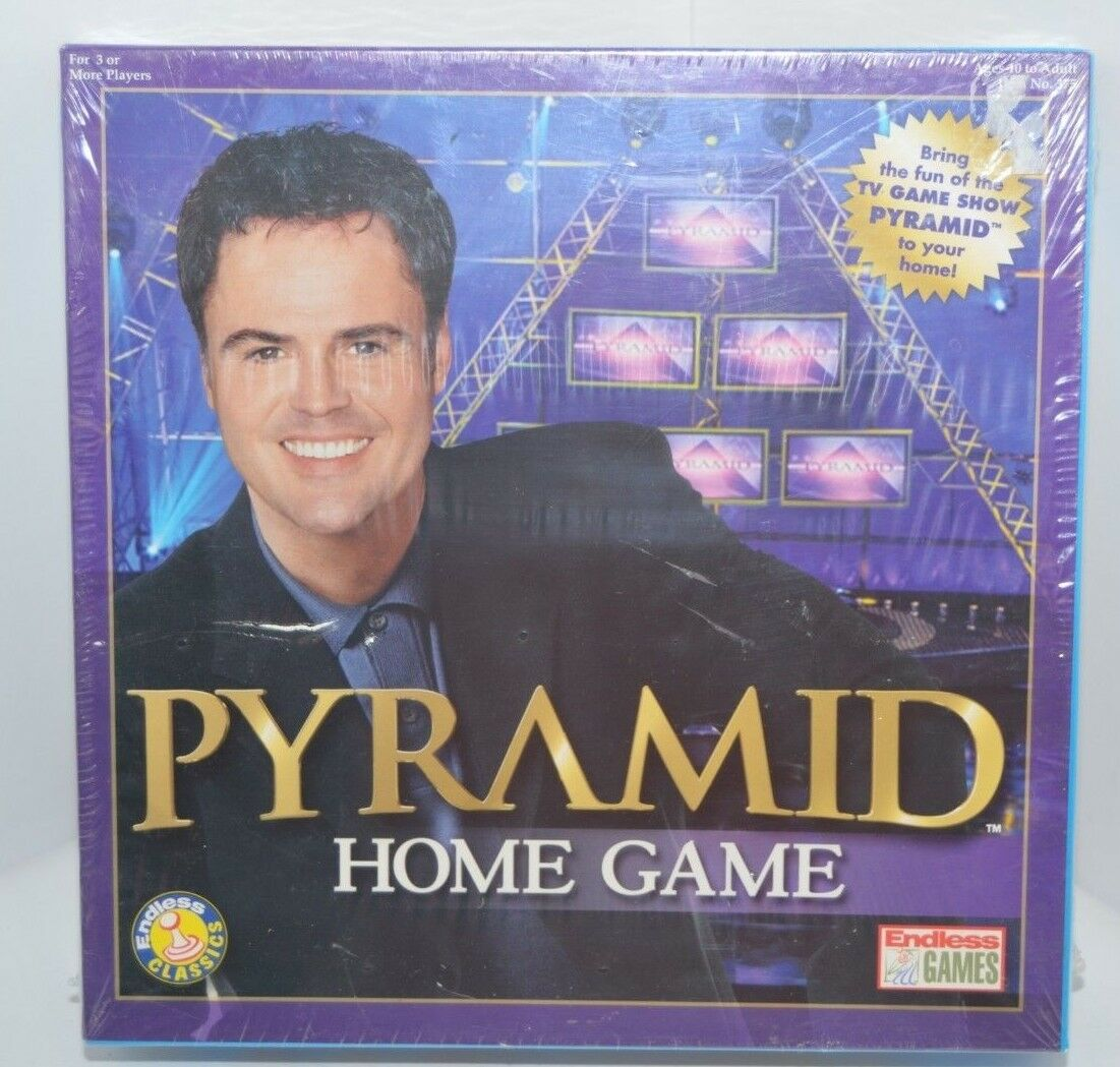 Brand New Pyramid Home Game Board Game 2003 Donny Osmond Sealed TV Game Show
