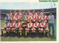 238 Equipe Team Feyenoord Netherlands Sticker Football 1980 Benjamin Rare
