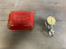 Vintage Starrette Dial Sheet Gauge No 170 With Original Case