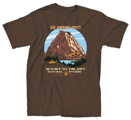 Saint Hillary Mens Brown T-Shirt Transformers Mt