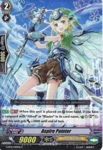 ASPIRE PAINTER G-BT11//049EN C CARDFIGHT VANGUARD CARD