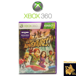 Kinect Adventures Xbox 360 Video Game  (2010)  With Manual Tested Works D+