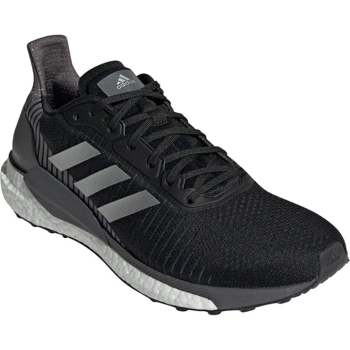Adidas SOLAR GLIDE ST (Boost) Men   EF1467 Laufschuhe   schwarz Silber met. grau