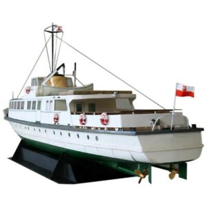 DIY-Paper-Model-1-100-Polish-Coast-Ferry-Ship-Assemble-Hand-Work-3D-Puzzle-S2V8