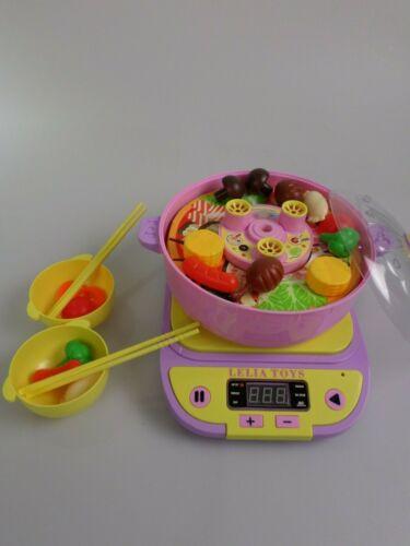 Lelia  Küchegeräte mit Funktion Spielset Geschenk für ab 3 Jahre