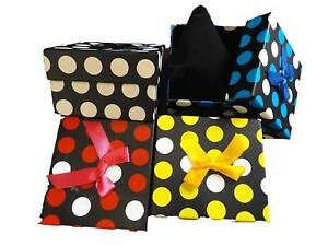 SPOTTED-DOTS-LUXURY-WATCH-BRACELET-JEWELLERY-NECKLACE-GIFT-BOXES-PADDED-INSERT