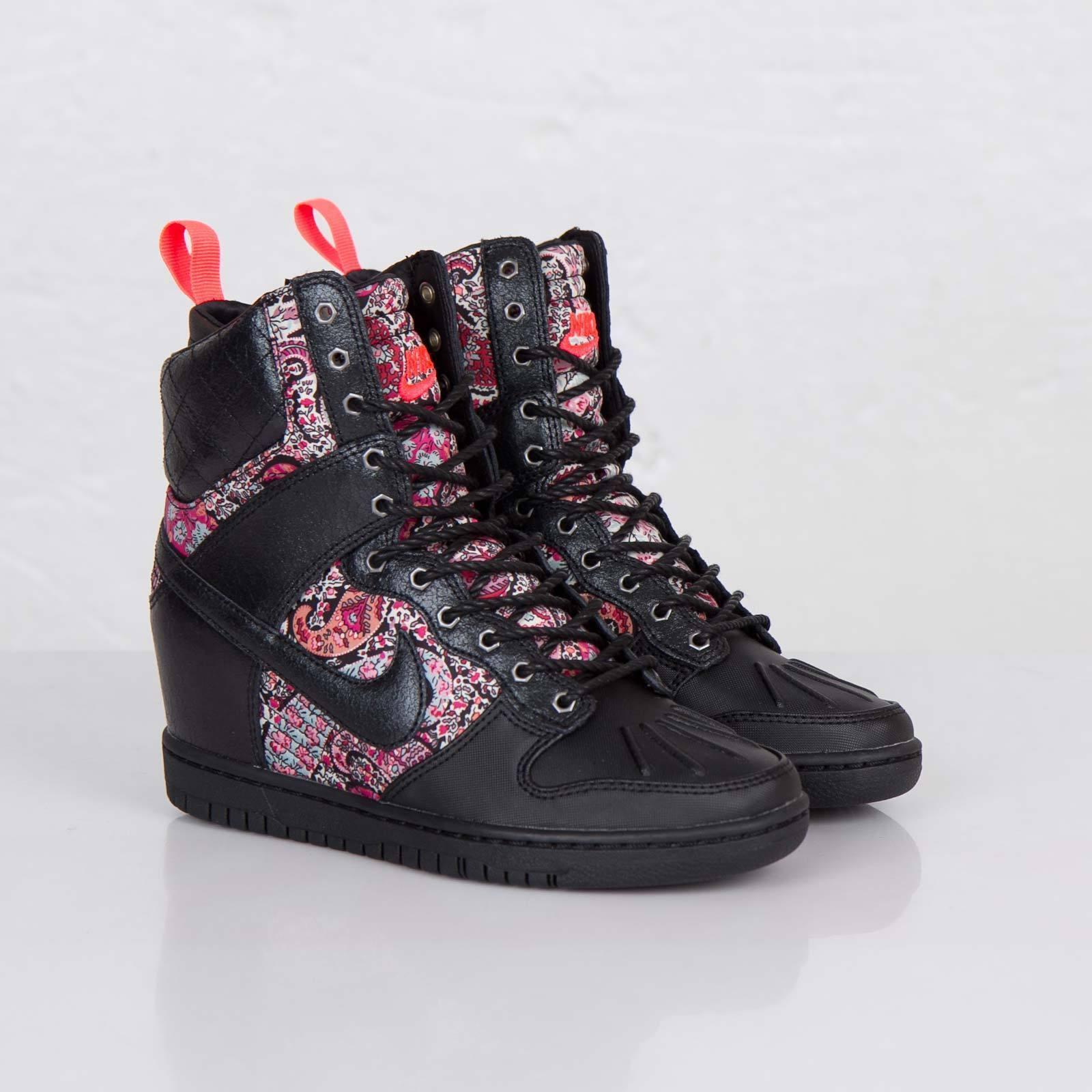 Nike WOMEN'S Dunk SKY HI HIGH HIDDEN WEDGE Sneakerboot LIBERTY QS SIZE 5 NEW