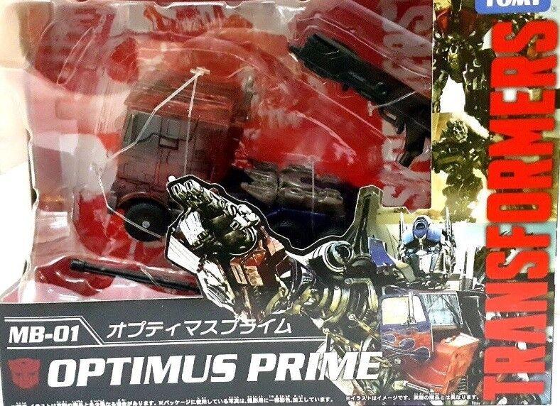 Película Transformers Masterpiece figura la mejor serie Takara Optimus Prime MB-01