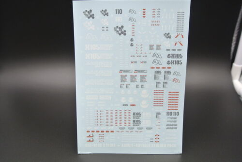 D.L high quality Decal water paste For Bandai MG GAT-X105 Strike Gundam Aile