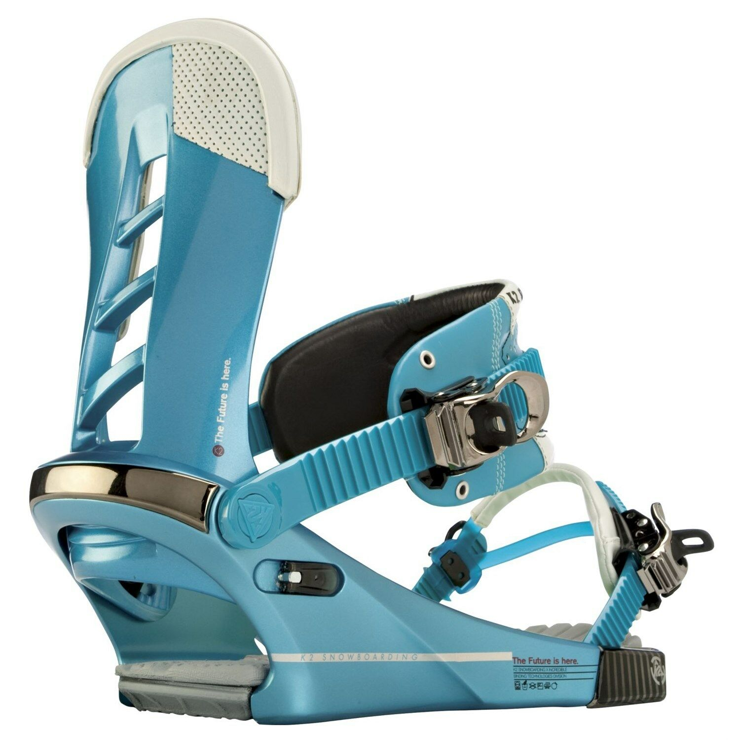 K2 MENS COMPANY SNOWBOARD BINDINGS SIZE MED COLOUR blueE  UK DELIVERY .0