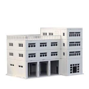 8 storey Building 1:160 for N gauge model train layout B 19 N scale building