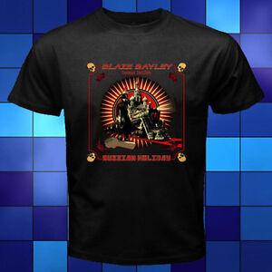 New-Blaze-Bayley-Russian-Holiday-Black-T-Shirt-Size-S-M-L-XL-2XL-3XL