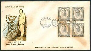 Philippine-1960-Honoring-Chief-Justice-JOSE-ABAD-SANTOS-FDC-B