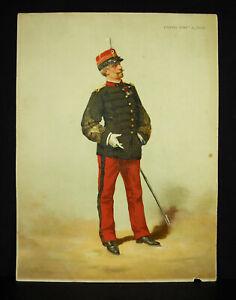 A-Legras-Colonel-of-Infantry-of-Line-Chromolith-c1880-Uniform-Military-Xixth