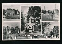 London FESTIVAL OF BRITAIN Pleasure Gardens 1951 Tuck M/view RP PPC