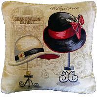 Window Shopping In Paris 18 Throw Pillow Cushion Cover Set Home Decor Accent
