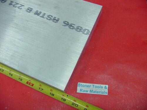 """1/"""" X 9/"""" X 19/"""" 6061 ALUMINUM FLAT BAR T6511 Solid 1.00/""""x 9/"""" New Mill Stock Plate"""