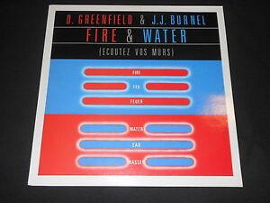 D-GREENFIELD-amp-J-J-BURNEL-LP-33T-12-034-FIRE-amp-WATER-1983