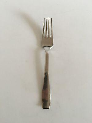 Georg Jensen Stainless 'plata' Dinner Fork Scandinavia Non-u.s. Silver
