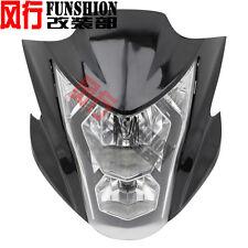 New Headlight Fairing Light Lamp Cowling For Kawasaki ER-6N 2012 2013 2014 Black