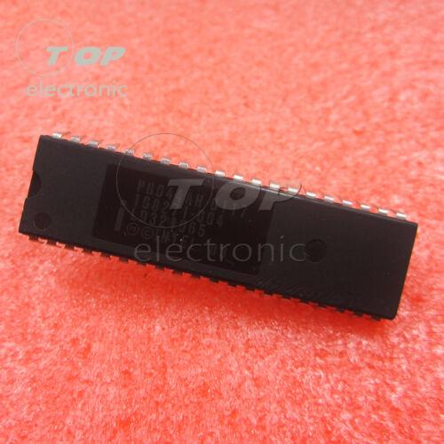 1//5PCS P8044AH HIGH PERFORMANCE 8BITS MICROCONTROLLER INTEL