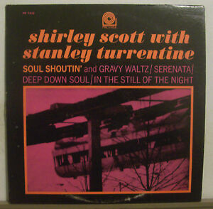 Shirley-Scott-amp-Stanley-Turrentine-Soul-Shoutin-Prestige-PR7213-NM