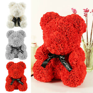 Rose-Bear-Teddy-Bear-Large-Huge-Luxury-Foam-Birthday-Wedding-Girl-039-s-Gift-HMDUO