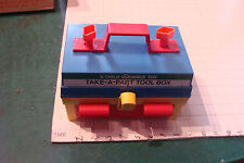 a Child Guidance Toy - TAKE-A-PART TOOL BOX great one broken screw piece
