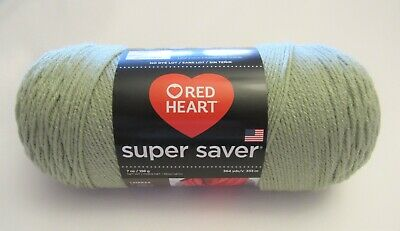 Frosty Green RED HEART Super Saver Yarn