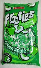 Frooties Green Apple Candy 360 Count Bag Tootsie Roll Fruities BULK Candies