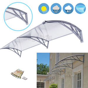 40 x 80 Outdoor Polycarbonate Front Door Window Awning Patio