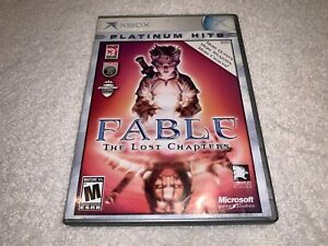 Fable: The Lost Chapters (Microsoft Xbox, 2005) Platinum Hits Complete Excellent