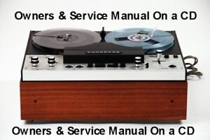 Details about TANDBERG 6000X REEL TO REEL OWNERS & SERVICE MANUALS CD FREE  SAME DAY SHIPPING