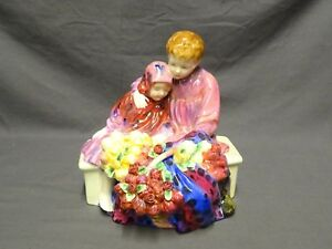 COLLECTABLE-ROYAL-DOULTON-FIGURE-FIGURINE-HN1342-FLOWER-SELLERS-CHILDREN