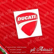 1 Adesivo Resinato Sticker 3D Ducati Corse Nuovo 40 mm