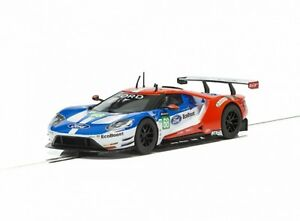Scalextric-1-32-Ford-GT-GTE-68-UK-LeMans-2017-HD-C3857