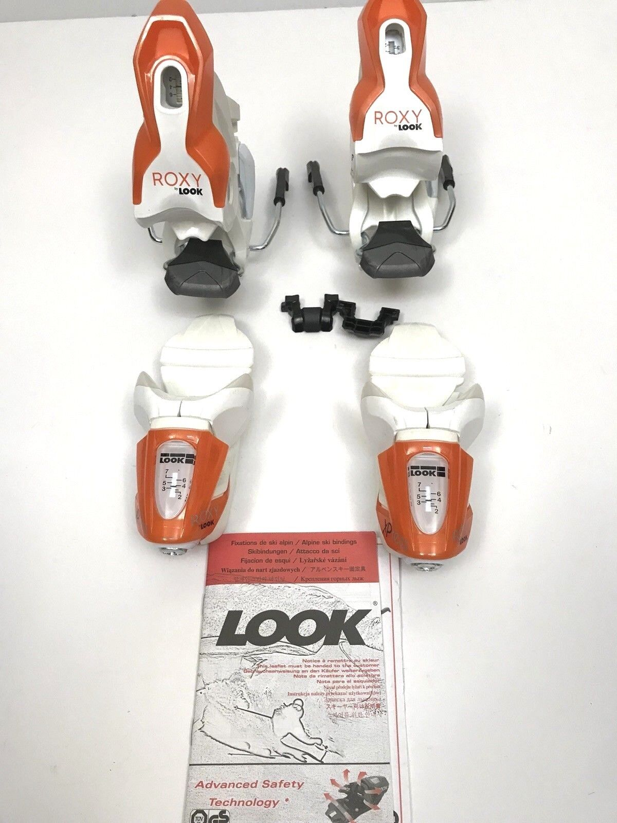 Look Xpress ROXY 7 7 7 B83 Bindings Weiß New in Box 4c129f