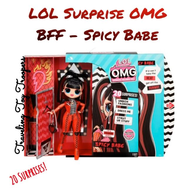 *SHIPS TODAY* LOL Surprise OMG Series 4 - Opposites Club - Spicy Babe