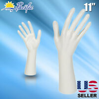 Female Mannequin Hand Display Jewelry Bracelet Ring Glove Stand Holder White