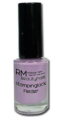 Stamping Lack Stempellack 5ml Pink Weiss Schwarz Rot Neon Pastell Konad Moyou