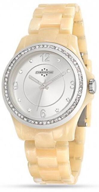Orologio in policarbonato da donna beige Chronostar by Sector R3751232501