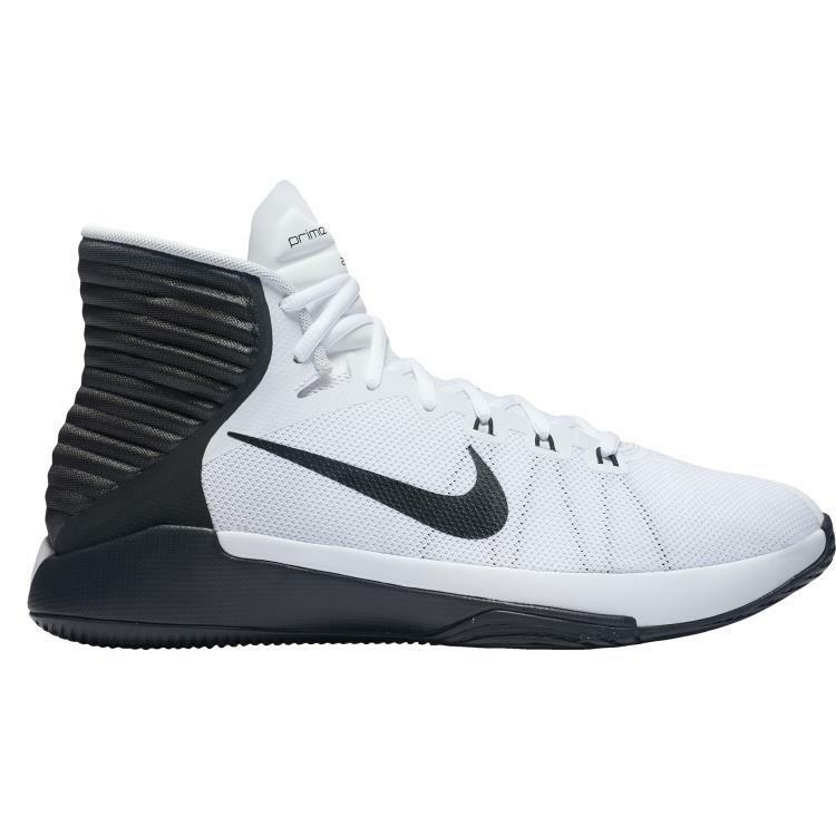 Nike homme Prime Hype DF 2018 Basketball chaussures 844787-100 blanc/noir -